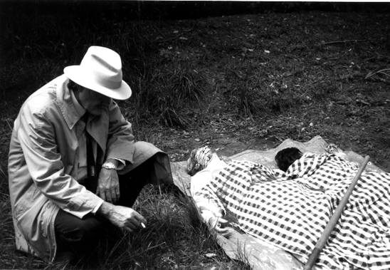 Det. McPhail with the bodies in 1958