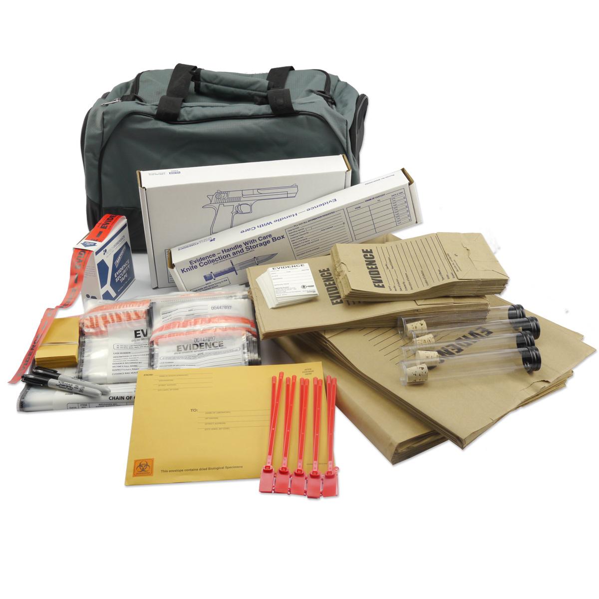 Evidence Packaging Kit Crime Scene Forensic Supply Store
