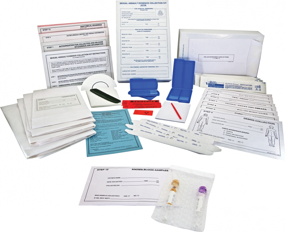 Sexual Assault Kit Victim Crime Scene Forensic Supply Store